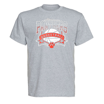 Manchester Panthers Basketball Logo #42 Unisex T-Shirt