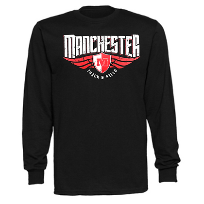 Manchester Panthers Track Logo #79 Unisex Long Sleeve T-Shirt