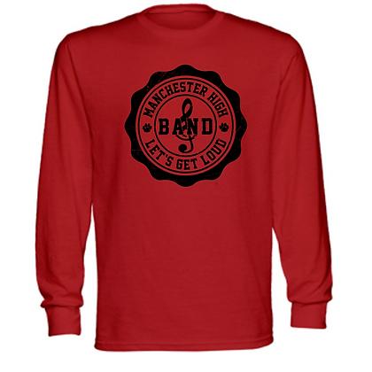 Manchester Panthers Band Logo #25 Unisex Long Sleeve T-Shirt