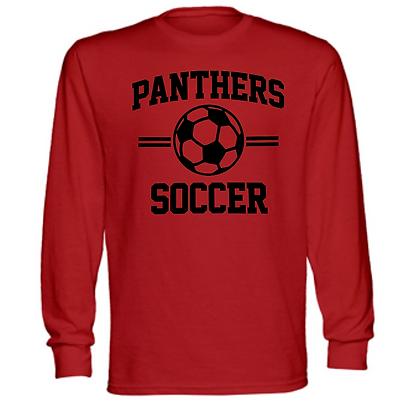 Manchester Panthers Soccer Logo #63 Unisex Long Sleeve T-Shirt
