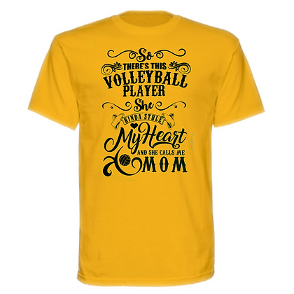 Gameday There's This Volleyball Play Unisex T-Shirt