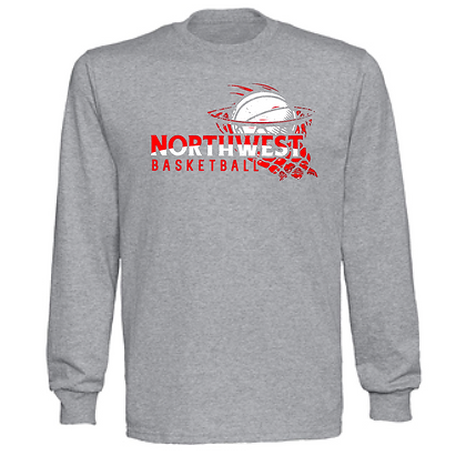 Northwest Indians Basketball Logo #37 Unisex Long Sleeve
