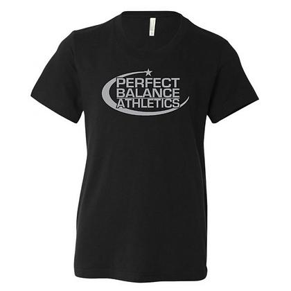 Perfect Balance Athletics Logo (Gray) Youth T-Shirt