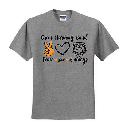 Design D (Glitter Print) Unisex Cotton blend T-shirt