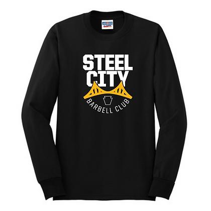 Steel City Design #3 Unisex Cotton blend Long Sleeve