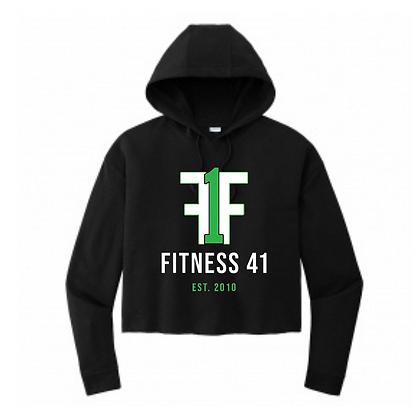 Fitness Forty One Ladies Crop Hoodie