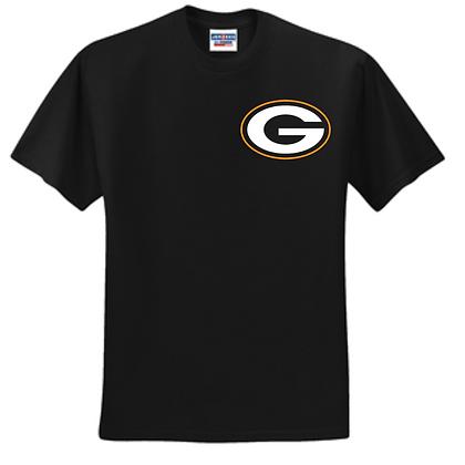 Green Bulldogs Wrestling Unisex T-Shirt L/C Logo I