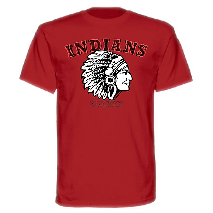 Northwest Indians Indian Chief Logo Unisex T-Shirt