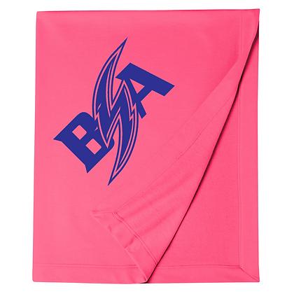 Blue Storm Athletics Logo (Blue) Blanket