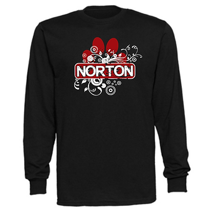 Norton Panthers General Logo #12 Unisex Long Sleeve T-Shirt