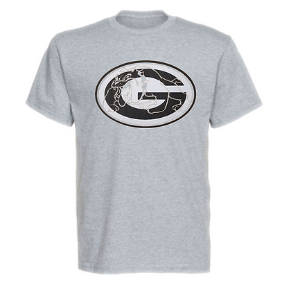 Green Bulldogs General Logo #8 Unisex T-Shirt