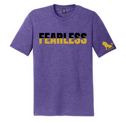 Black and Gold Fearless T-Shirts