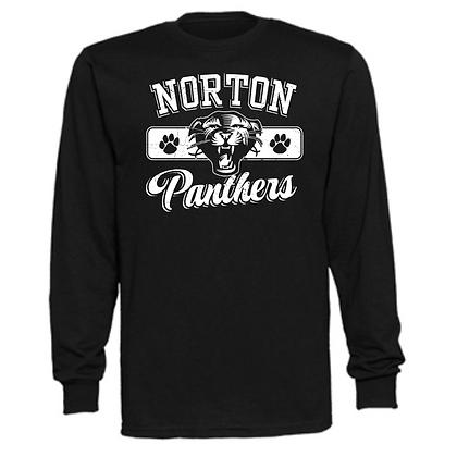 Norton Panthers General Logo #3 Unisex Long Sleeve T-Shirt