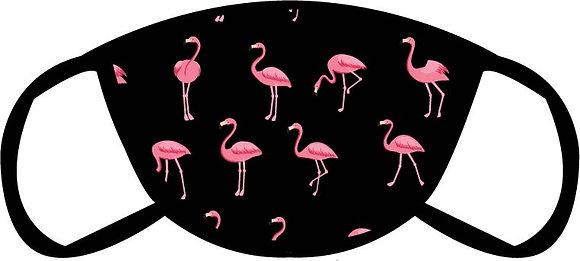 Flamingo Flock Face Mask