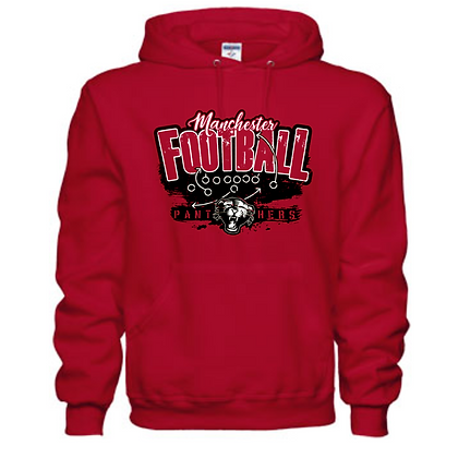 Manchester Panthers Football Logo #56 Unisex Hoodie