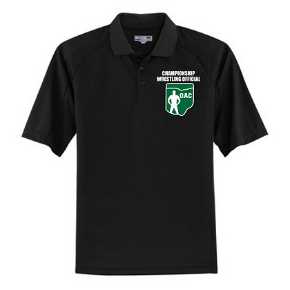 OAC Embroidered Championship Wrestling Official Polo