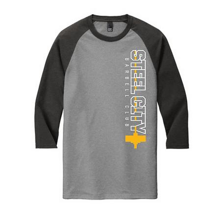 Steel City Design #5 Unisex Baseball Tee