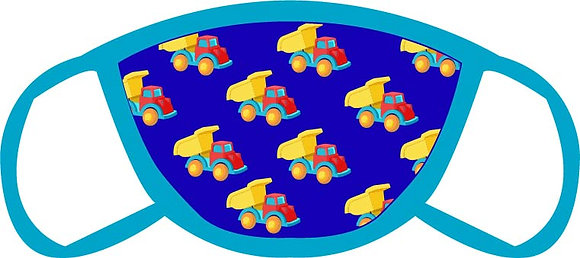 Toy Trucks Face Mask