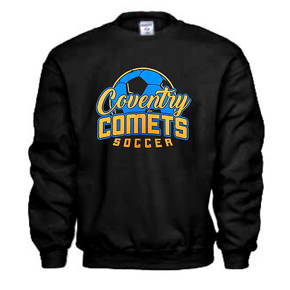 Coventry Comets Soccer Logo #53 Unisex Crew Neck Sweater