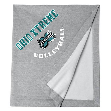 Ohio Xtreme Volleyball Logo A Blanket