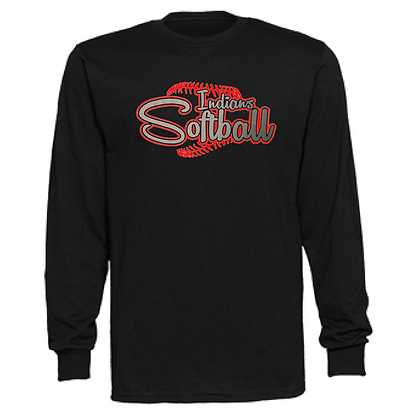 Northwest Indians Softball Logo #64 Unisex Long Sleeve