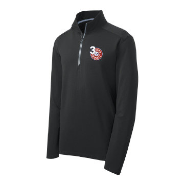 3 Star Crossfit Embroidered Quarter Zip
