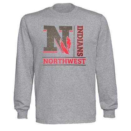 Northwest Indians General Logo #4 Unisex Long Sleeve