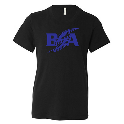 Blue Storm Athletics Logo (Blue) Youth T-Shirt