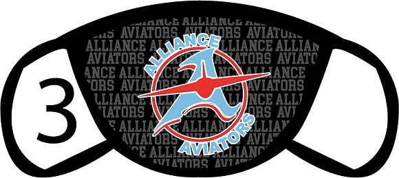 Alliance Aviators Face Mask