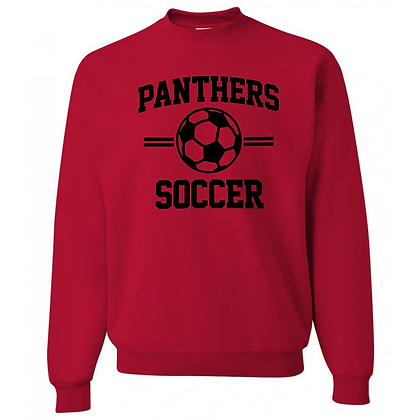 Manchester Panthers Soccer Logo #63 Unisex Crew Neck Sweater