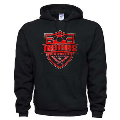 Northwest Indians Soccer Logo #57 Unisex Hoodie