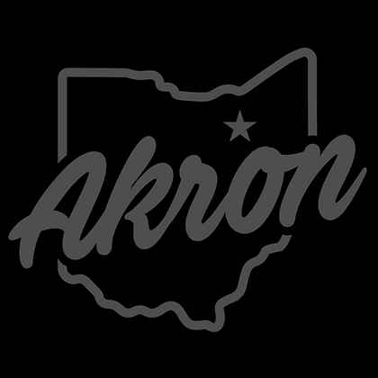 Akron Grey Script