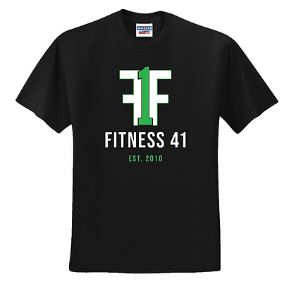 Fitness Forty One Unisex Cotton blend T-shirt