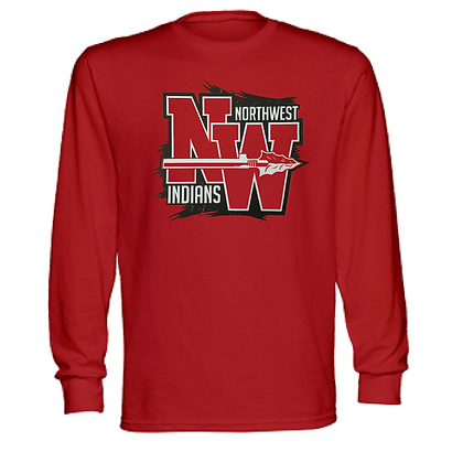 Northwest Indians General Logo #1 Unisex Long Sleeve