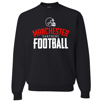 Manchester Panthers Football Logo #60 Unisex Crew Neck Sweater