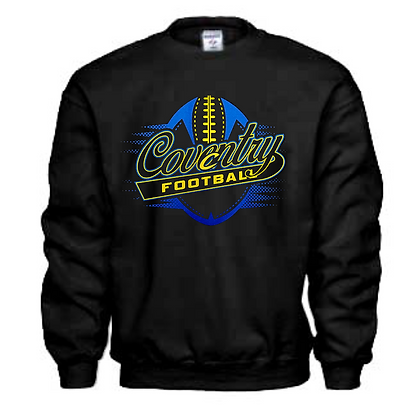 Coventry Comets Football Logo #44 Unisex Crew Neck Sweater