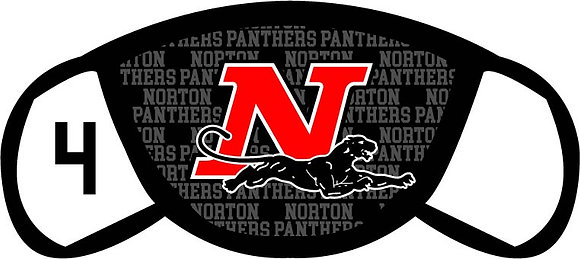 Norton Panthers Face Mask