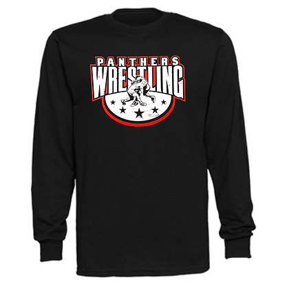 Manchester Panthers Wrestling Logo #88 Unisex Long Sleeve T-Shirt