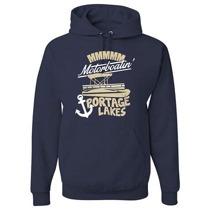 MMMM Motorboatin' Portage Lakes Unisex Hoodies