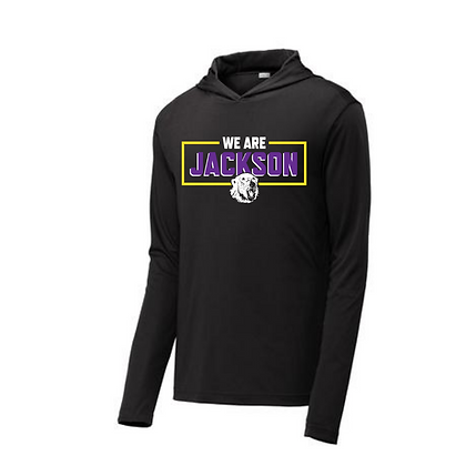 We Are Jackson Hooded Performance Long Sleeve