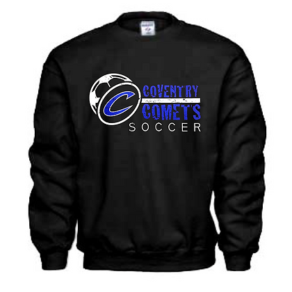 Coventry Comets Soccer Logo #55 Unisex Crew Neck Sweater