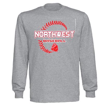 Northwest Indians Baseball Logo #27 Unisex Long Sleeve