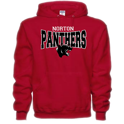 Norton Panthers General Logo #6 Unisex Hoodie