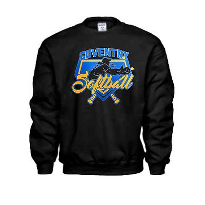 Coventry Comets Softball Logo #57 Unisex Crew Neck Sweater