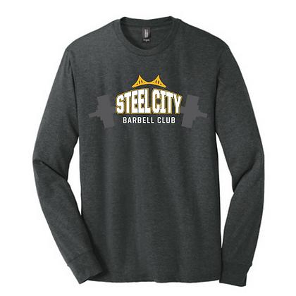 Steel City Design #4 Unisex Long Sleeve Triblend