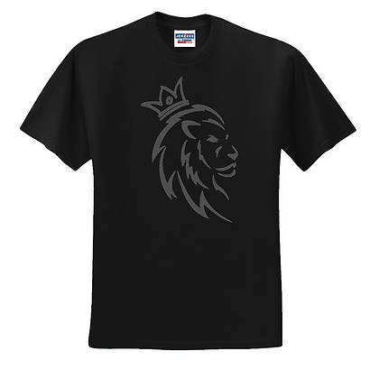 Male Lion Couple/Individual Design Unisex T-Shirt