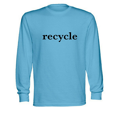 Tree Tee Recycle Adult Unisex Long Sleeve T-Shirt