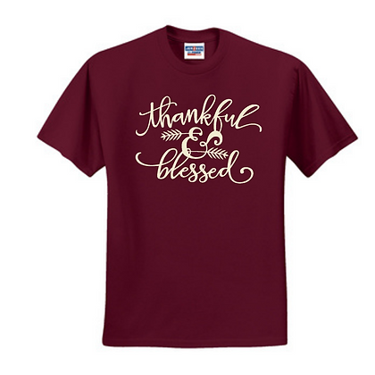 Thankful and Blessed Unisex T-Shirt
