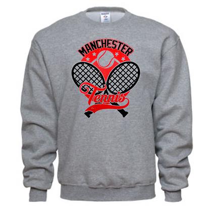 Manchester Panthers Tennis Logo #71 Unisex Crew Neck Sweater