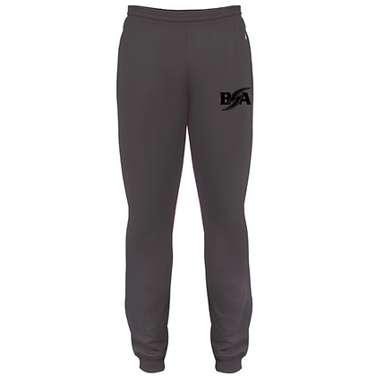 Blue Storm Athletics Logo (Black) Joggers